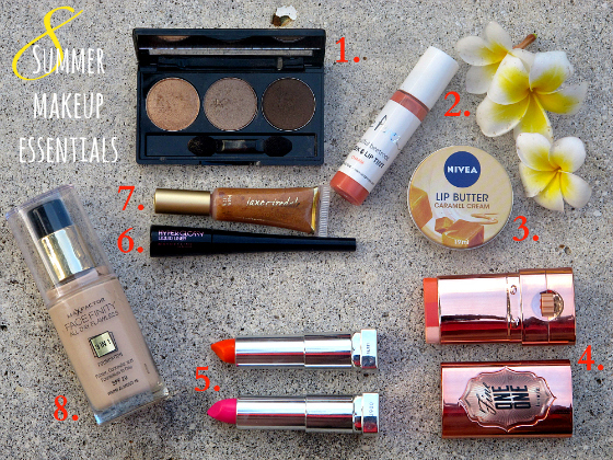 makeup essentials for lips and cheeks