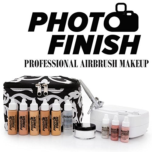 The Photo Finish professional airbrush makeup kit offers exceptional makeup flow control, making it a favorite for novices and professionals alike.