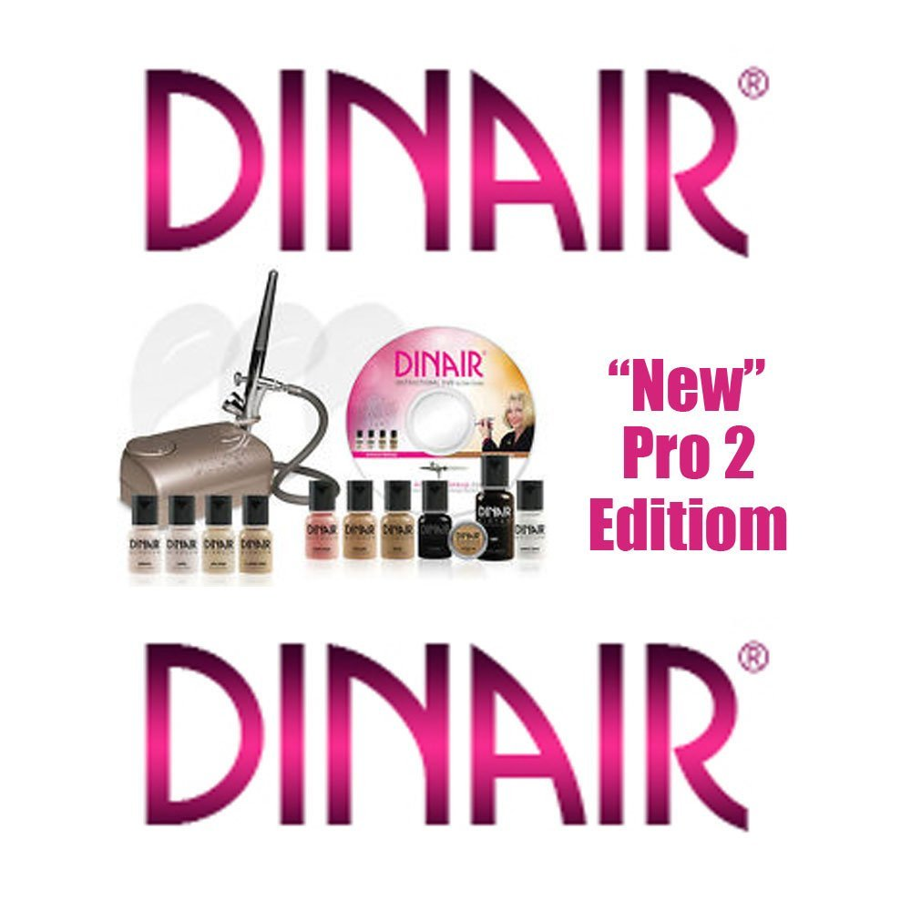 Dinair airbrush makeup kits tend to garner excellent user reviews and the price of the product is quite affordable.